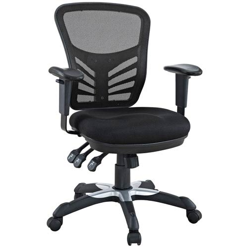 Modway Furniture Articulate Office Chair in Black