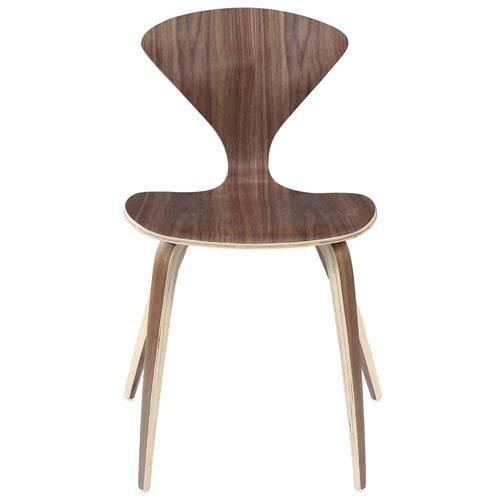 Fine Modway Furniture Vortex Dining Chair In Dark Walnut Forskolin Free Trial Chair Design Images Forskolin Free Trialorg