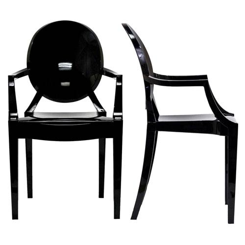 Modway Furniture Casper Dining Chairs Set of Two in Clear