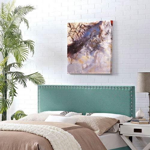 Modway Furniture Phoebe King Fabric Headboard in Laguna