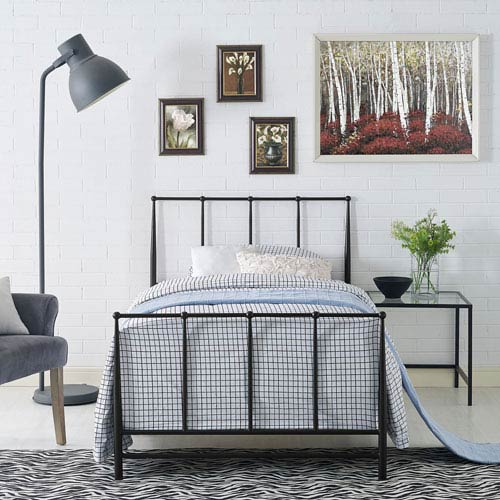 Estate Twin Bed in Brown