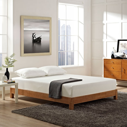 Aveline 10-inch Full Mattress in White
