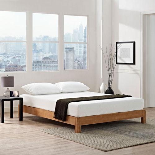 Modway Furniture Aveline 8-inch King Mattress in White