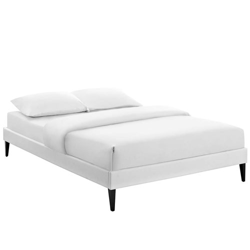 Modway Furniture Tessie Full Bed Frame with Squared Tapered Legs