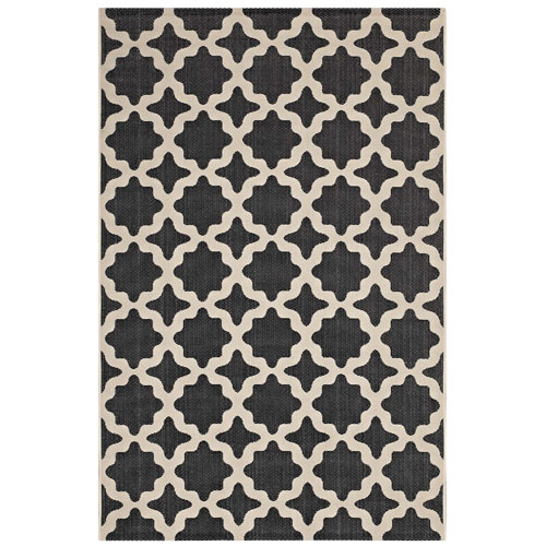 Cerelia Moroccan Trellis 8x10 Indoor and Outdoor Area Rug