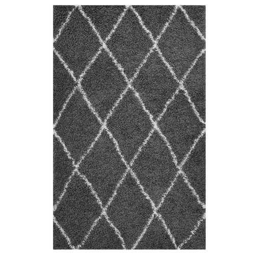 Modway Furniture Toryn Diamond Lattice 5x8 Shag Area Rug