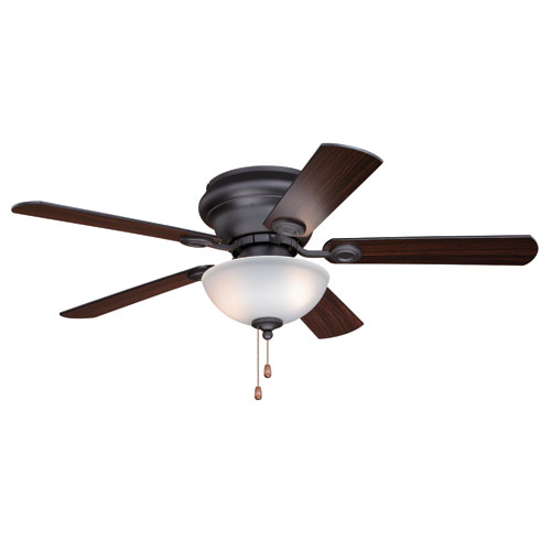 Expo Nobel Bronze Two-Light 42-Inch Ceiling Fan With Light Kit