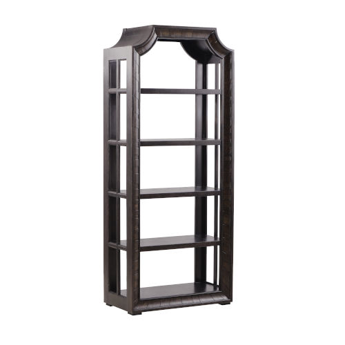 American Chapter Rye 34-Inch Arcadia Bunching Room Divider Display cabinet