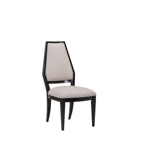 Prossimo Walnut and Brown 42-Inch Side Chair, Set of Two
