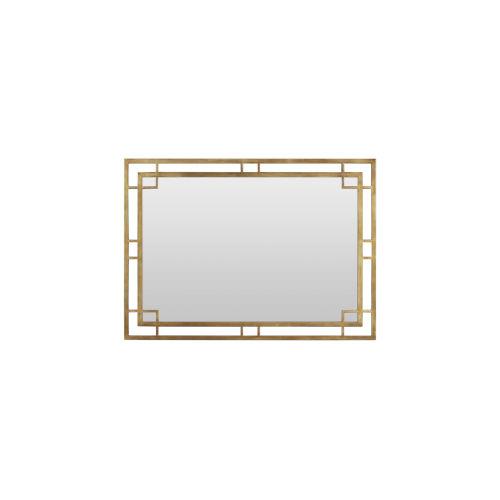 Woodwright Bronze 53-Inch Key Mirror