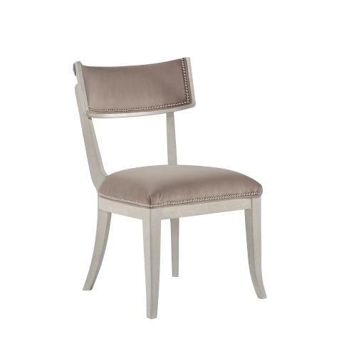 La Scala Ivory 35-Inch Klismos Side Chair, Set of Two