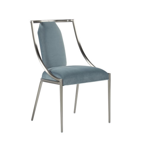 La Scala Nickel 37-Inch Sling Chair, Set of Two