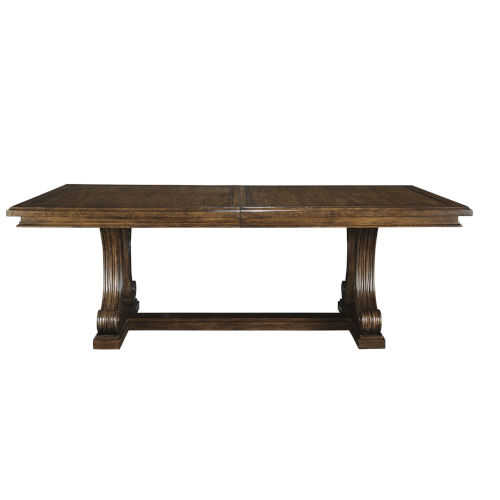 Kingsport Medium Oak 88-Inch Rectangular Dining Table