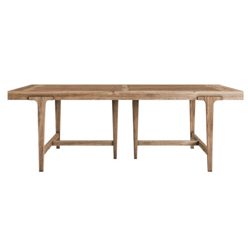 Passage Light Oak Rectangular Dining Table
