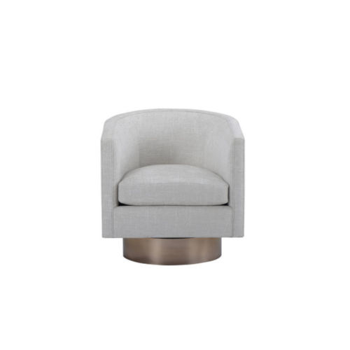 Epicenters 33127 Upholstered Maya Swivel Chair