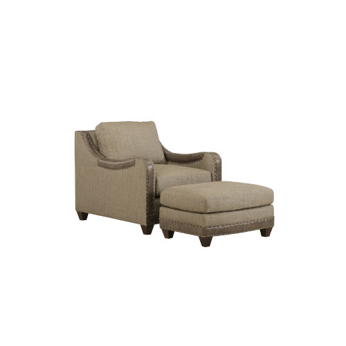 American Chapter Makers 21-Inch Dover Sage Matching Chair
