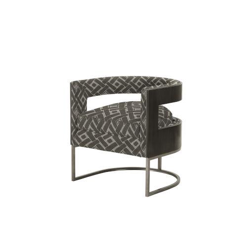 Prossimo Makers 27-Inch Sedia Peltro Tub Chair