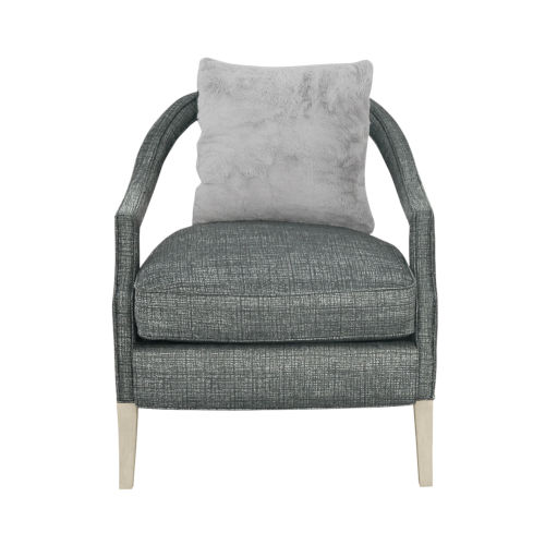La Scala Ivory 34-Inch Accent Chair