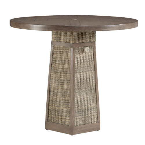 Summer Creek Pampas 48-Inch Outdoor Universal Gathering Table