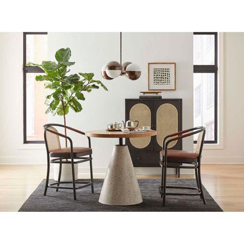 Dark Gray 38-Inch Moller Counter Chair