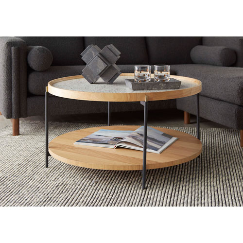 Natural 36-Inch Arne Cocktail Table