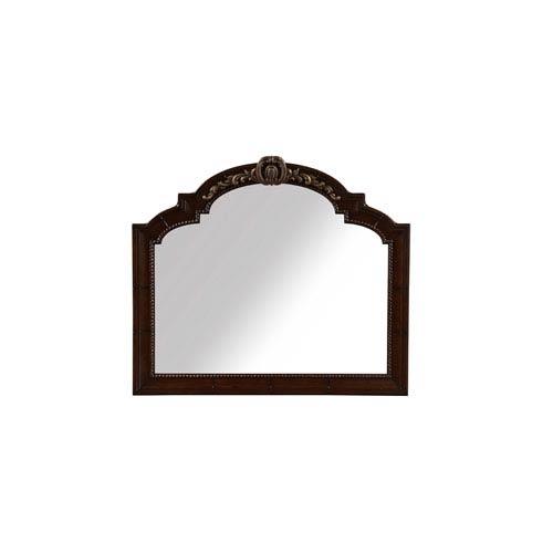 A.R.T. Furniture Valencia Dark Oak Landscape Mirror