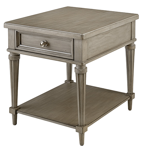 A.R.T. Furniture Morrissey Kirke End Table - Smoke