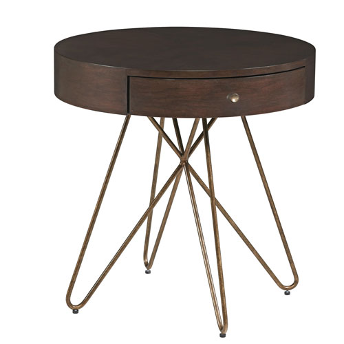 A.R.T. Furniture Epicenters Silver Lake Round End Table