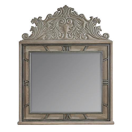 Arch Salvage Benjamin Mirror - Mist