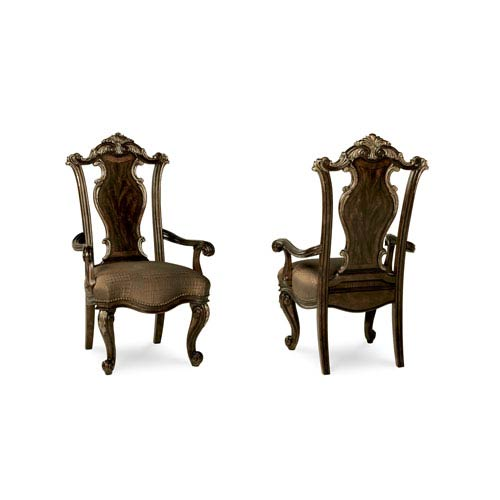 Gables Wood Back Arm Chair