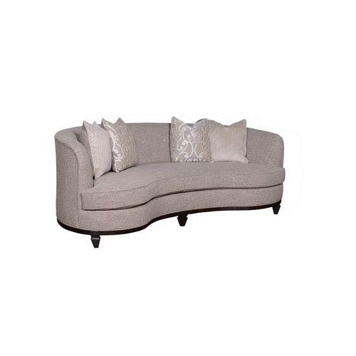 High Quality A.R.T. Furniture Blair Fawn 84 Inch Kidney Sofa