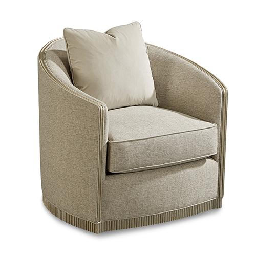 Morrissey Uph Luhrman Swivel Chair