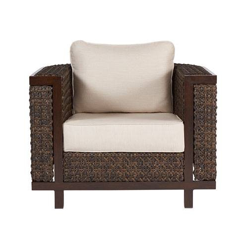 Epicenters Outdoor Brentwood Wicker Club Chair