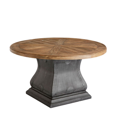 Arch Salvage Outdoor Lyon Round Dining Table