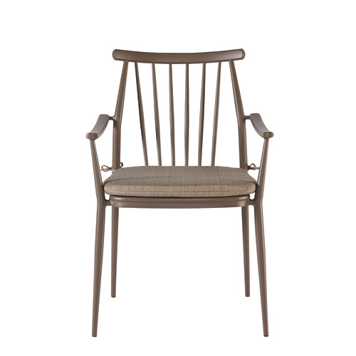 A.R.T. Furniture Epicenters Austin Outdoor Darrow Brown Arm Chair Set of Two