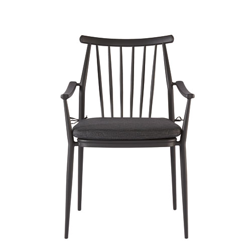A.R.T. Furniture Epicenters Austin Outdoor Darrow Black Arm Chair Set of Two