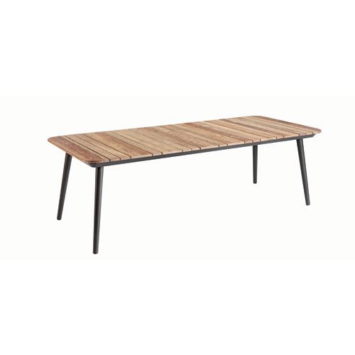 Epicenters Austin Outdoor Darrow Recycle Teak Dining Table