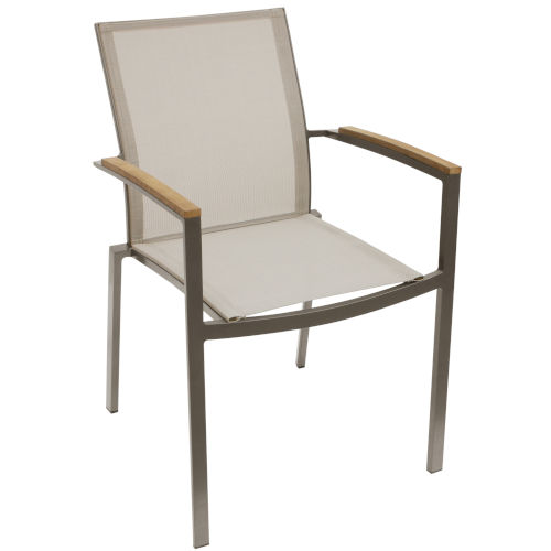 Sanctuary Taupe Outdoor Armchair