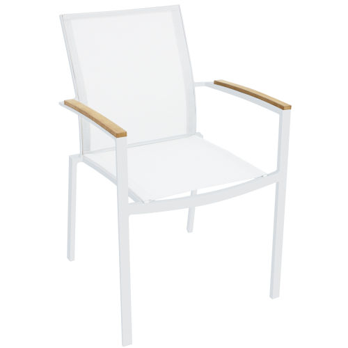 Sanctuary White Outdoor Armchair