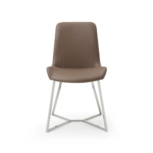 Aileen Taupe Dining Chair