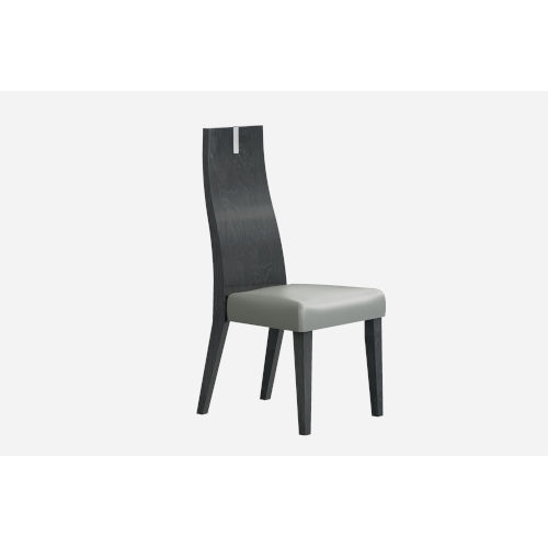 Los Angeles High Gloss Gray Dining Chair