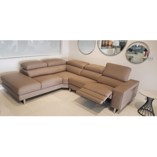 Augusto Taupe Sectional Sofa