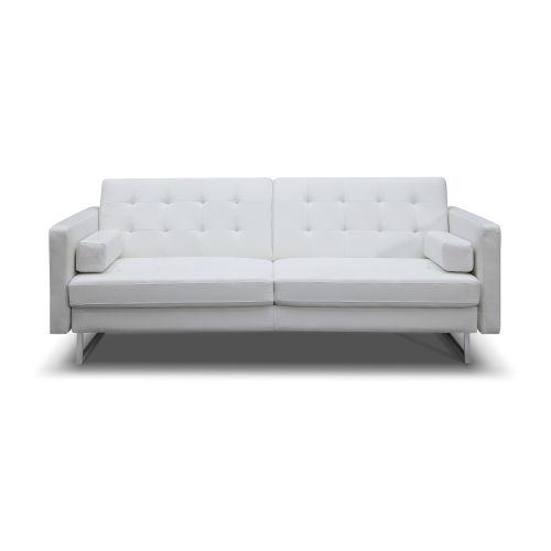 Giovanni White Sofa Bed