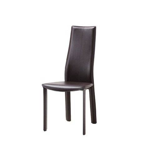 Whiteline Modern Living Allison Chocolate 40-Inch Dining Chair, Set of 4