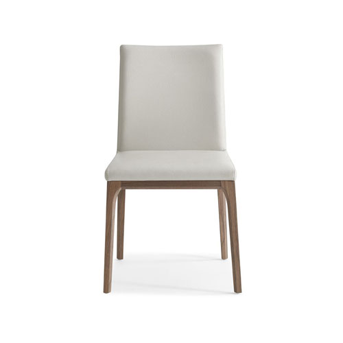 Stella Dining Chair White Faux Leather Set of 2