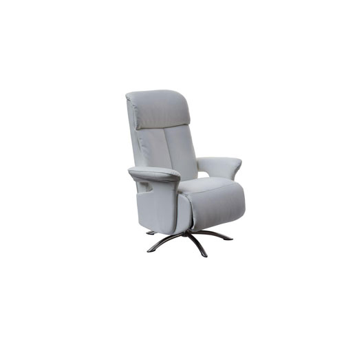 Nora White Recliner Armchair