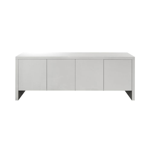 Whiteline Modern Living Gio High Gloss White 32-Inch Buffet