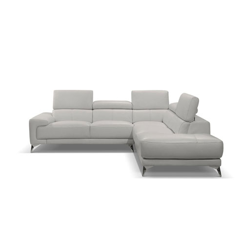 Fabiola White Sectional
