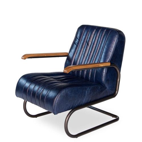Blue Bel Air Arm Chair