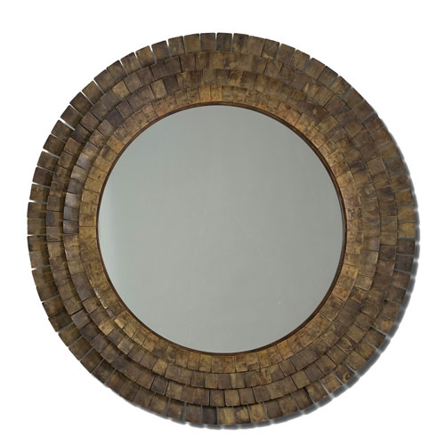 Brown Mistral Wall Mirror